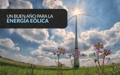 ESPAÑA CRECE EN PRODUCCIÓN DE ENERGÍA EÓLICA EN 2018